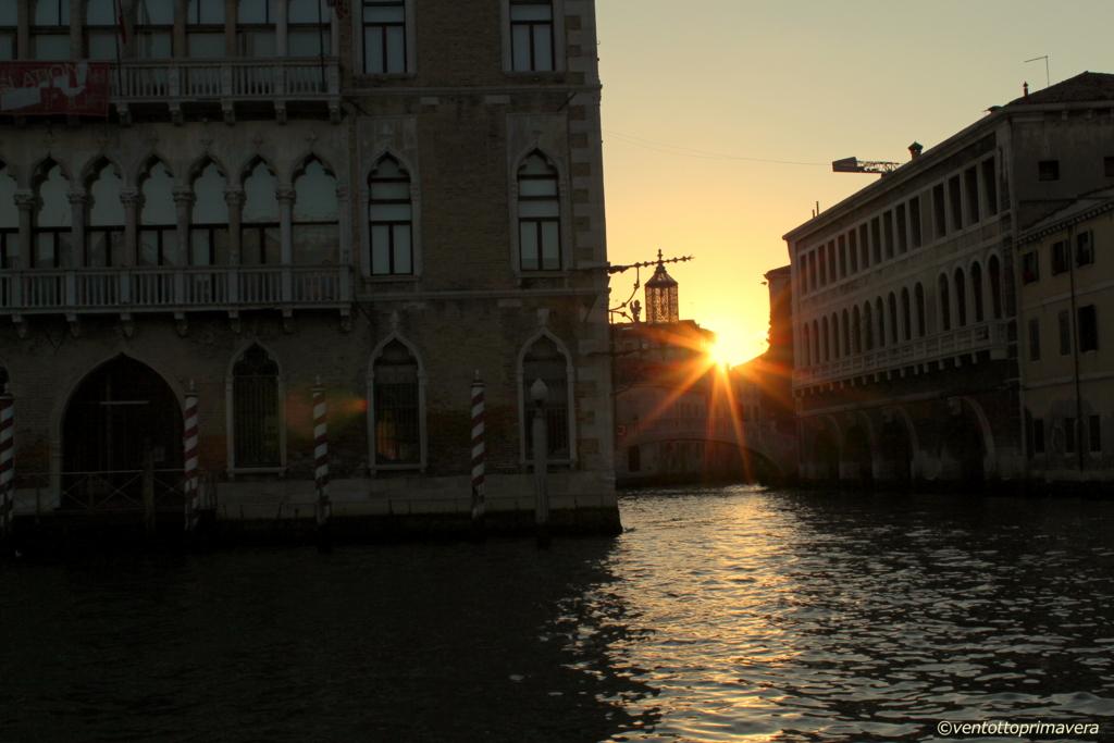 ヴェネチア;夕暮れ