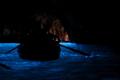 青の洞窟;カメラマン