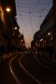 リスボン;坂;夜景