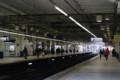 川越駅。広いホームが安全そうでいい感じ