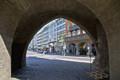 イザール門よりミュンヘン中心街方向。手持ちJPEG4枚からHDR合成[HDR][