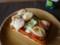 だーりんが作ってくれたピザトースト。