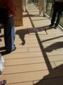 避難はしごの訓練