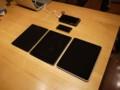 iPadを並べてみる