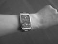 CROSSの時計はメンズだから大きい…