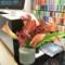 ディプティック カウンターのお花