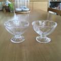 セリア デザートグラス