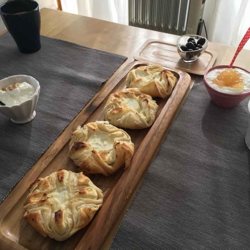 ピカー シェーブルチーズのパイ