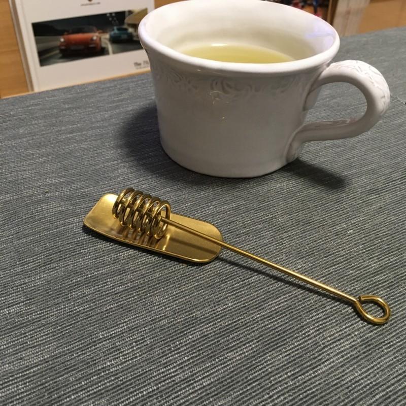IKEA 蜂蜜すくい 真ちゅう製