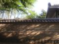 [奈良]木洩れ日(奈良・築地塀)