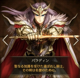 ヒーロー:聖騎士パラディン