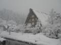 雪の白川郷 09.12.31  by peitarou