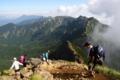 赤岳から横岳へ by kzfe