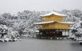 Kinkaku-ji temple of snow  BY kzfe