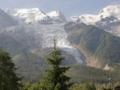 モンブランとボゾン氷河