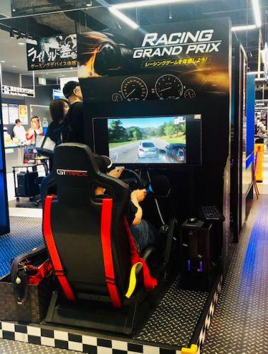 ドライビングゲーム体験