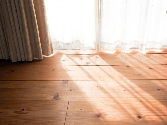 窓からの日差し