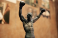 ロッキーバルボアを讃える銅像12インチ