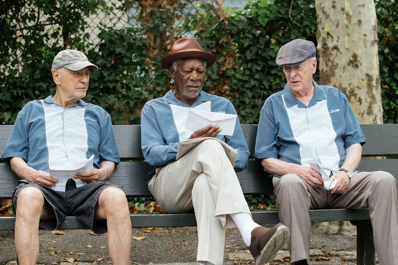 映画『ジーサンズ はじめての強盗』、マイケル・ケイン