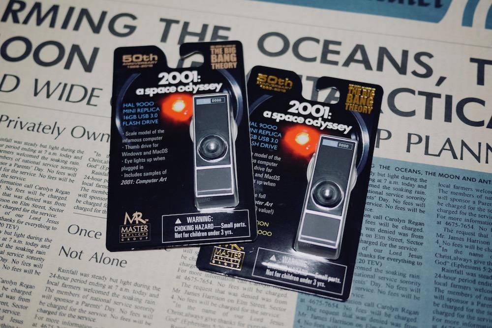 映画『2001年宇宙の旅』人工知能HAL9000型USBメモリ