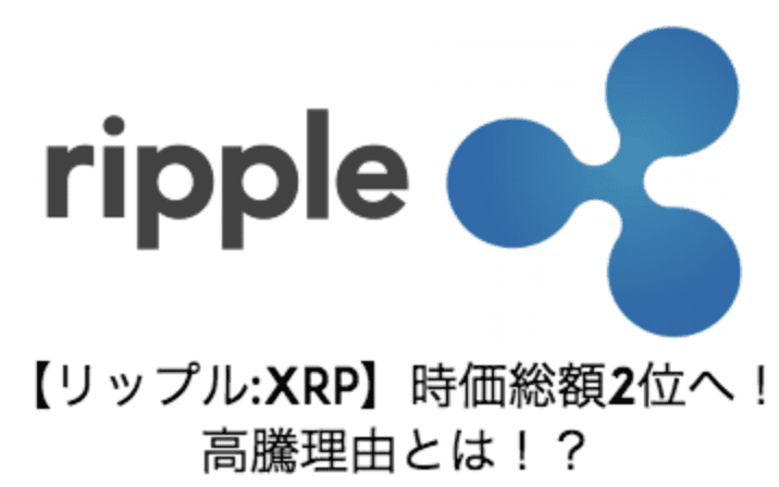 リップル高騰理由とは!?
