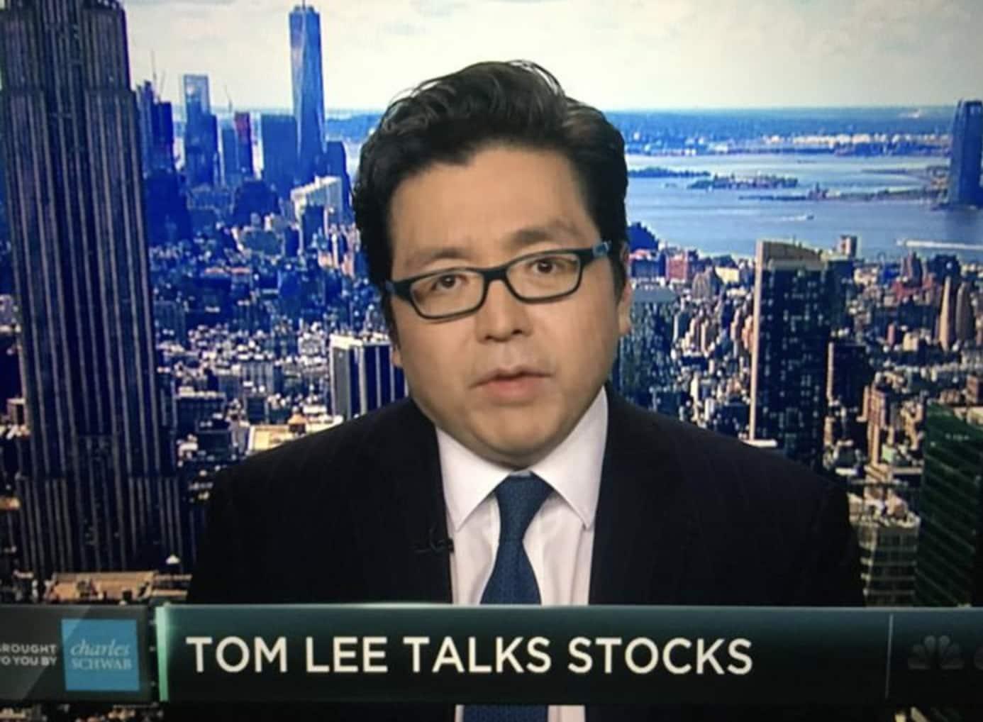 トム・リー アナリスト