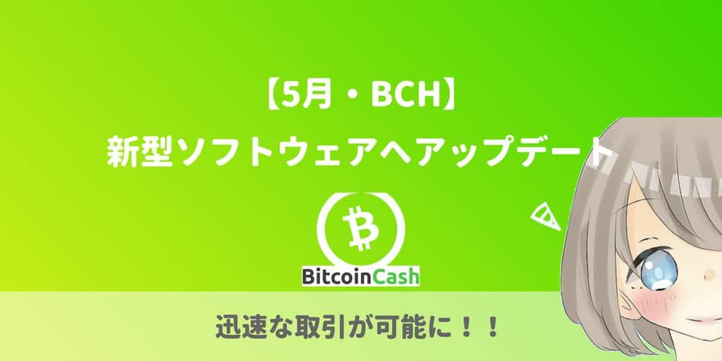 ビットコインキャッシュ、ハードフォーク(32MB)