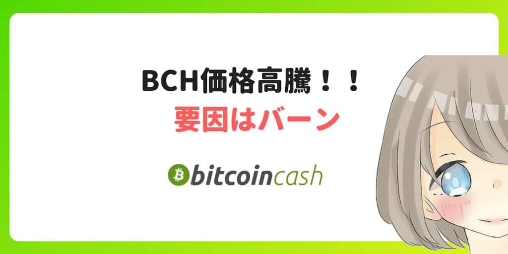 BCH(ビットコインキャッシュ)、バーンで価格高騰した理由