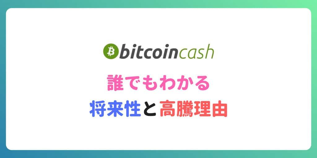 ビットコインキャッシュ(BCH)高騰理由と今後の将来性