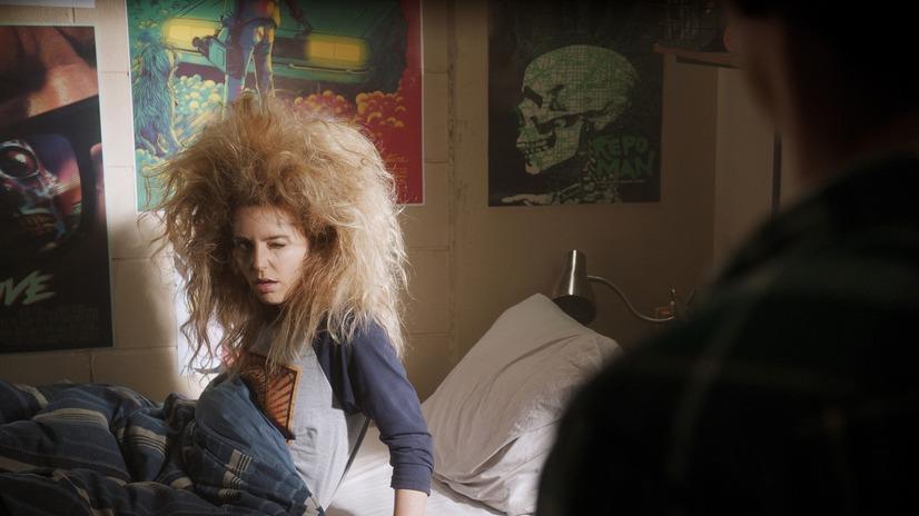 映画「ハッピー・デス・デイ 2U」のワンシーンの画像です。