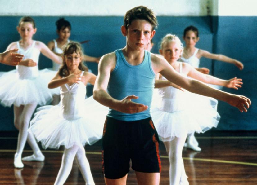映画「リトル・ダンサー」のワンシーン画像です