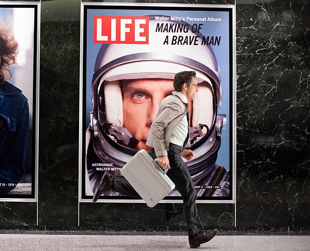 映画「LIFE!」のワンシーン画像です