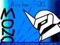 オリスト「MONO」より:バトルスーツ「アーチャー(実用機)」
