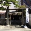 京都・桜Ⅱ/サイクリング17/ 洛中洛外図屏風と福長神社