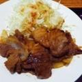 豚生姜焼定食/肉厚/