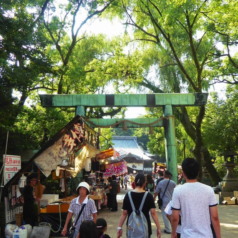 大四日市まつり2018/諏訪神社参拝