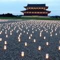奈良・平城宮跡 2014 夜のはじまり
