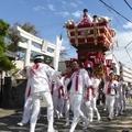 塚口神社秋祭り2018 8 ふとん太鼓 10月14日