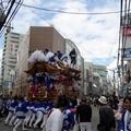 塚口神社秋祭り2018 11 阪急塚口駅前 10月14日