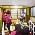 NHK朝ドラ「まんぷく」セット見学1 記念撮影11月4日