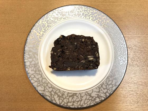 豆腐ココアケーキ完成
