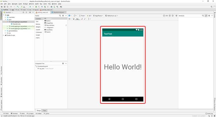 Android Studio 3.3 レイアウトエディタ「プレビュー表示」の変更方法