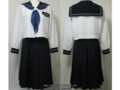 鶴丸高校の夏制服