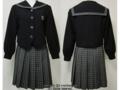 八女学院高校の冬制服