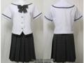 八女学院高校の夏制服