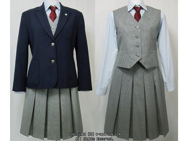 宇都宮清陵高等学校制服画像