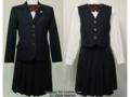 鶴見女子中学の冬制服