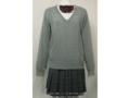 鶴見女子中学のセーター