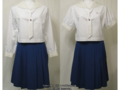矢板東高校の夏制服