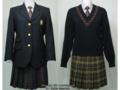 帝京八王子高校の制服